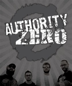 AUTHORITY ZERO @ La Ley Seca, | Zaragoza | Aragón | España