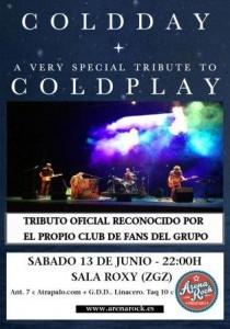 "COLDDAY ""TRIBUTO COLDPLAY"" @ SALA ROXY | Zaragoza | Aragón | España"