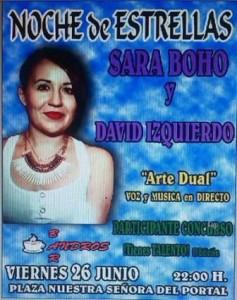 SARA BOHO + DAVID IZQUIERDO @ BAR ANDROS | Zaragoza | Aragón | España