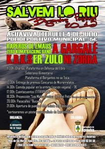 SALVEM LO RIU - BEGANTES FESTIVAL @ POLIDEPORTIVO DE BERGANTES | Aragón | España