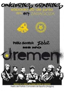 DREMEN @ QUIOSCO DE LA MUSICA - PARQUE GRANDE | Zaragoza | Aragón | España