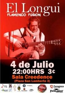 EL LONGUI @ CREEDENCE | Zaragoza | Aragón | España