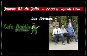 LOS IBÉRICOS @ CAFÉ DUBLÍN | Zaragoza | Aragón | España