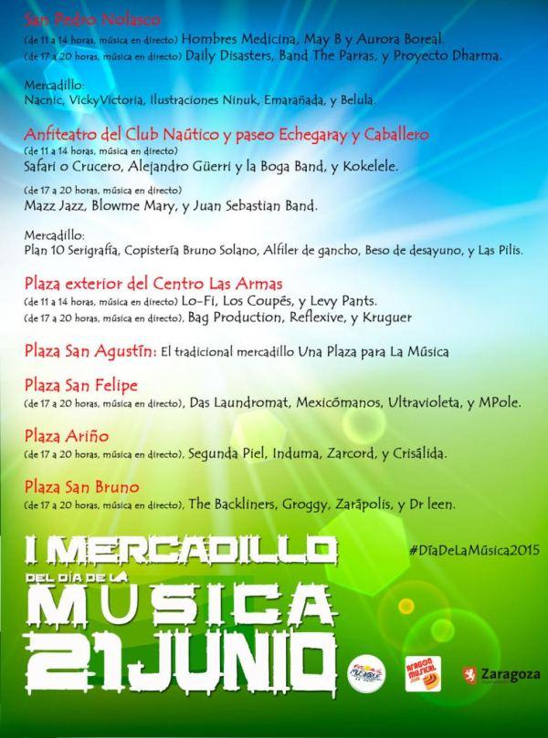 Dia de la musica Zaragoza