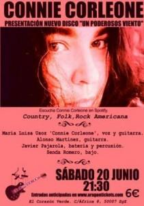 CONNIE CORLEONE @ EL CORAZON VERDE TERRAZA | Zaragoza | Aragón | España