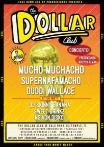MUCHO MUCHACHO +SUPERNAFAMACHO + DUDDI WALLACE @ SALA ROXY | Zaragoza | Aragón | España