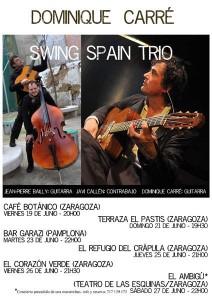 DOMINIQUE CARRÉ SWING SPAIN TRÍO @ Café Botánico | Zaragoza | Aragón | España