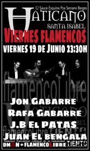 CICLO VIERNES DE FLAMENCOS @ PUB VATICANO | Zaragoza | Aragón | España