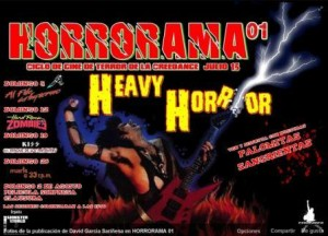 HORRORAMA @ CREEDENCE | Zaragoza | Aragón | España