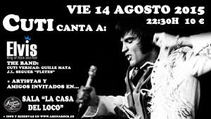CUTI CANTA A ELVIS 2015 @ LA CASA DEL LOCO | Zaragoza | Aragón | España