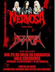NERVOSA + DESOLATOR @ SALA CREEDENCE | Zaragoza | Aragón | España