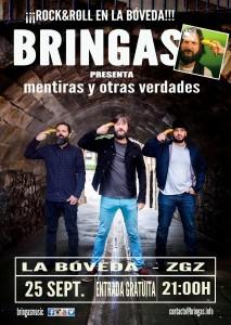 BRINGAS @ LA BOVEDA DEL ALBERGUE | Zaragoza | Aragón | España