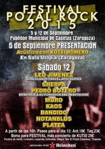 KUTXI ROMERO - PRESENTACION POZAL ROCK @ SALA UTOPIA | Zaragoza | Aragón | España