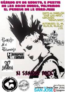 11º SAN JOSÉ ROCK @ Parque la Granja, zaragoza,  | Zaragoza | Aragón | España