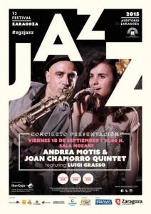 ANDREA MOTIS Y JOAN CHAMORRO QUINTET @ Sala Multiusos del Auditorio de Zaragoza,  | Zaragoza | Aragón | España