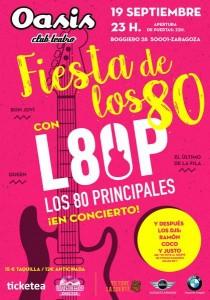 FIESTA DE LOS 80 @ SALA OASIS | Zaragoza | Aragón | España