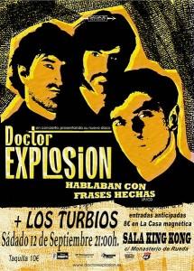 DOCTOR EXPLOSION + LOS TURBIOS @ Sala KING KONG | Zaragoza | Aragón | España