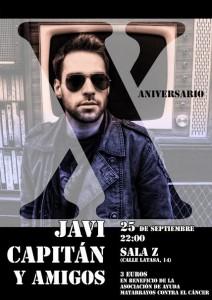 JAVI CAPITAN X ANIVERSARIO @ Sala Z  | Zaragoza | Aragón | España