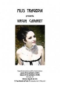 MISS TRAGEDIA - VIRGIN CABARET @ ALMACEN DE ARTE VICTORIA | Zaragoza | Aragón | España