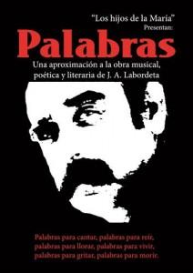 LOS HIJOS DE LA MARIA 'Palabras (homenaje a Labordeta)' @ Teatro de las Esquinas | Zaragoza | España