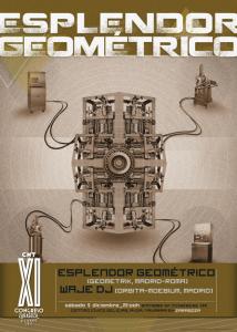 ESPLENDOR GEOMÉTRICO + WAJE DJ @ CENTRO CÍVICO DELÍCIAS | Zaragoza | Aragón | España