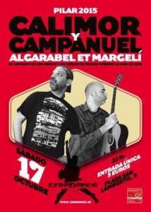 CALIMOR Y CAMPANUEL @ SALA CREEDENCE | Zaragoza | Aragón | España