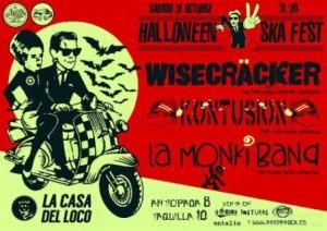 WISECRACKER + KONTUSION + LA MONKIBAND @ LA CASA DEL LOCO | Zaragoza | Aragón | España