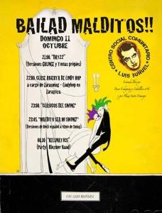 BAILAD MALDITOS!! @ Centro Social Comunitario Luis Buñuel  | Zaragoza | Aragón | España