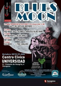BLUES MOON 2015 @ CENTRO CIVICO UNIVERSIDAD | Zaragoza | Aragón | España