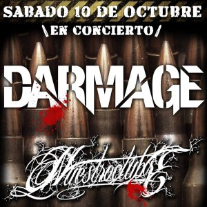 DARMAGE + NUESTROCTUBRE @ La Ley Seca | Zaragoza | Aragón | España