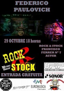 FEDERICO PAULOVICH @ ROCK & STOCK | Zaragoza | Aragón | España
