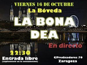 LA BONA DEA @ LA BOVEDA DEL ALBERGUE | Zaragoza | Aragón | España