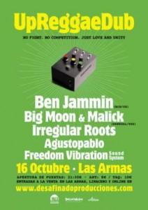 UP REGGAE DUB @ LAS ARMAS | Zaragoza | Aragón | España
