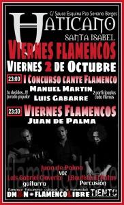 I CONCURSO DE CANTE FLAMENCO VATICANO @ Vaticano Santa Isabel  | Zaragoza | Aragón | España