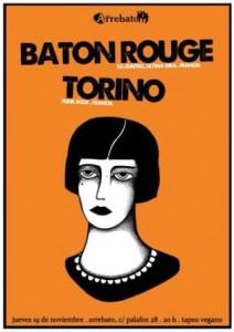 BATON ROUGE + TORINO @ SALA ARREBATO | Zaragoza | Aragón | España