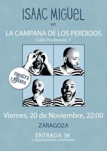 ISAAC MIGUEL @ LA CAMPANA DE LOS PERDIDOS | Zaragoza | Aragón | España