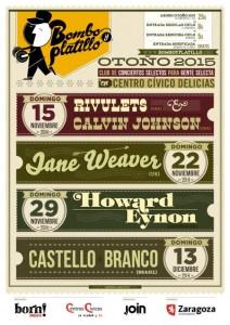 RIVULETS + CALVIN JOHNSON @ CENTRO CIVICO DELICIAS | Zaragoza | Aragón | España