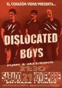 DISLOCATED BOYS @ EL CORAZON VERDE | Zaragoza | Aragón | España