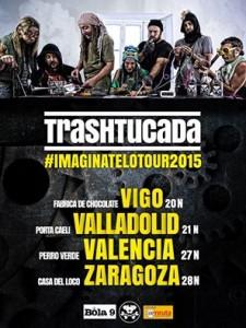 TRASHTUCADA @ LA CASA DEL LOCO | Zaragoza | Aragón | España