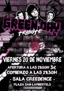 TRIBUTO A GREEN DAY @ SALA CREEDENCE | Zaragoza | Aragón | España