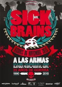 SICK BRAINS @ LAS ARMAS | Zaragoza | Aragón | España