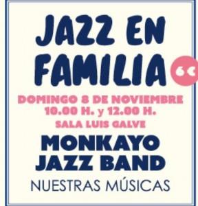 MONKAYO JAZZ BAND @ SALA LUIS GALVE | Zaragoza | Aragón | España