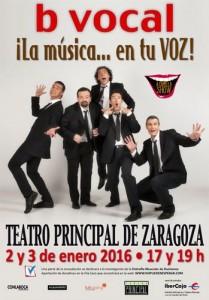B VOCAL @ TEATRO PRINCIPAL | Zaragoza | Aragón | España