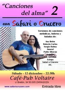 SAFARI O CRUCERO @ CAFE VOLTAIRE | Zaragoza | Aragón | España