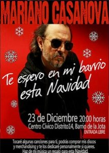 MARIANO CASANOVA @ CENTRO CIVICO DISTRITO 14 | Zaragoza | Aragón | España