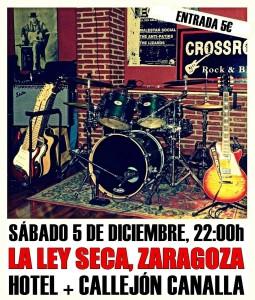 HOTEL + CALLEJÓN CANALLA @ LA LEY SECA | Zaragoza | Aragón | España