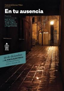 EN TU AUSENCIA @ EL  POETA ELÉCTRICO | Zaragoza | Aragón | España