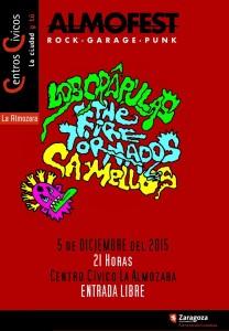 THE FIRE TORNADOS + LOS CRAPULAS + CAMELLOS @ CENTRO CIVICO LA ALMOZARA | Zaragoza | Aragón | España