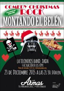 COMEDY CHRISTMAS ROCK @ LAS ARMAS | Zaragoza | Aragón | España