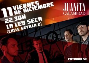 JUANITA CALAMIDAD @ LA LEY SECA | Zaragoza | Aragón | España